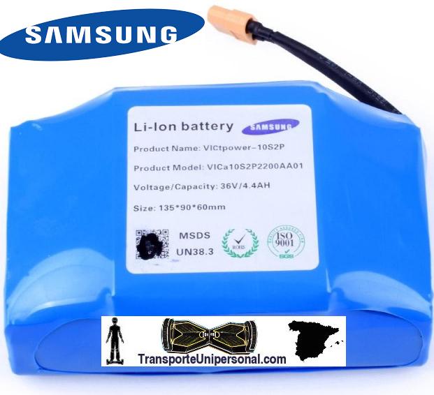Batería Original Samsung Para Patinete Eléctrico Hoverboard