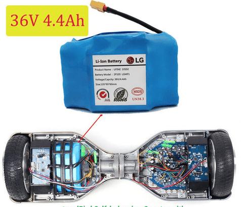 Batería para patinete eléctrico LG original