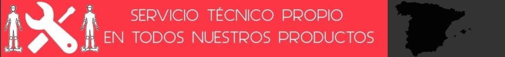 Servicio técnico oficial para España de Patinetes Eléctricos Auto Equilibrio y monociclos eléctricos inteligentes