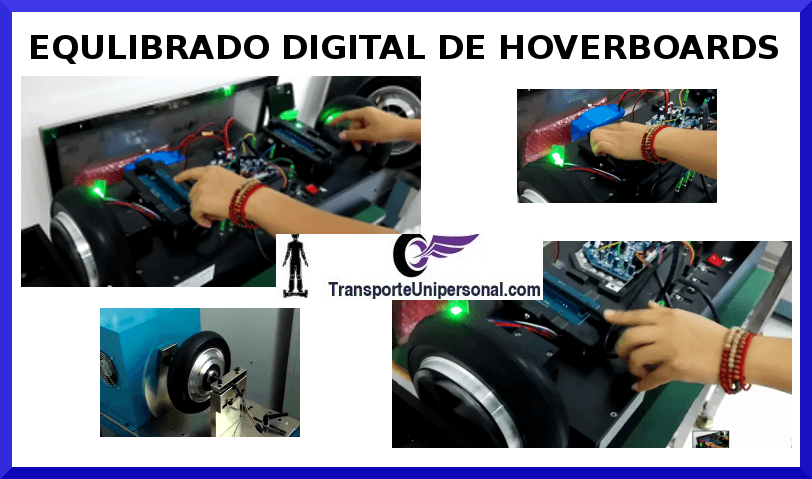 EQUILIBRADO DIGITAL PATINETE ELECTRICO HOVERBOARD