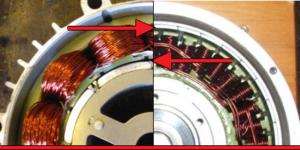 SI los dos motores tienen el mismo diámetro, el outrunner tendrá el entre-hierro más alejado del eje lo que incrementará el apalancamiento, proporcionando más torque por vatio.