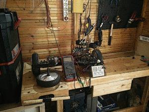 Cambio de motor en Patinete eléctrico self balanced