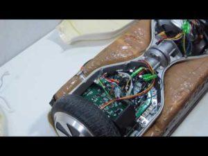 Cambiar co-board lateral en patín auto equilibrio hoverboard