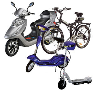 electric-scooter-bikes-different-types