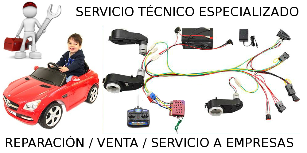 reparar-coche-infantil-radio-control