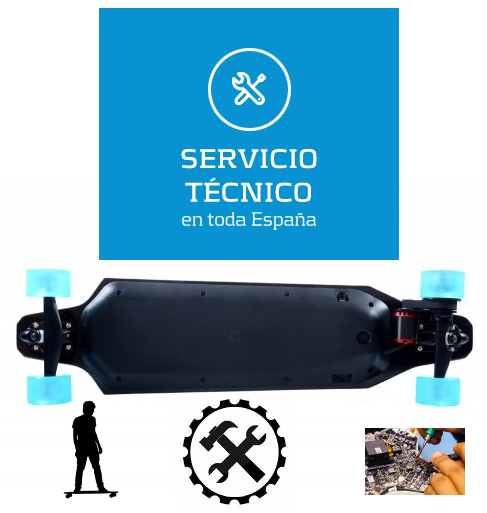 reparar-longboard-electrico