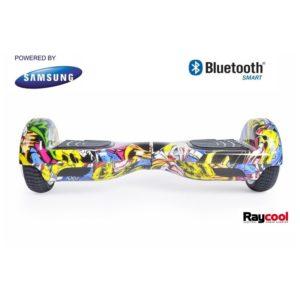 Descubre el nuevo Hoverboard Raycool I6 700w Graffiti