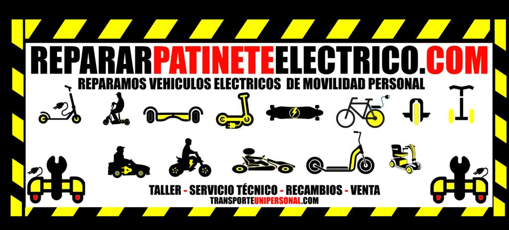 Servicio técnico multimarca patinetes electricos Barcelona